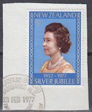 New Zealand 1977 Θ Mi.710 Regentschaft Silver Jubilee Queen Elizabeth [sq7104]