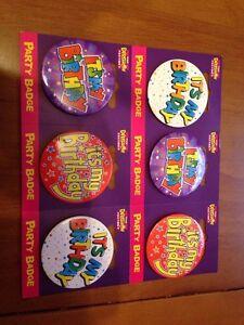 Expression ITS MY BIRTHDAY Happy Birthday Unisex Mens Ladies Badge 1 Badge