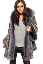 Cappotti e giacche da donna da esterno in misto lana con bottone
