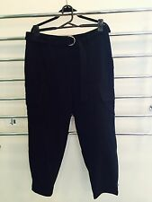 Women's Black D Ring Witchery Cargo Pants Size 12