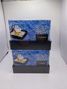 LOT(2) Be Good Company Executive Mini Sandbox Beach Break NEW SEALED