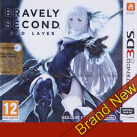 BRAVELY SECOND END LAYER - Nintendo 3DS ~12+ RGP ~ Brand New & Sealed!