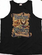 HARLEY DAVIDSON 1987- HARLEY'S AND GOOD WHISKEY T-SHIRT VINTAGE