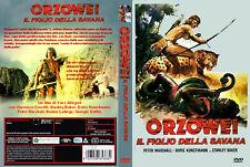 Serie TV Orzowei completa in 4 DVD in italiano con custodia e cover grafica