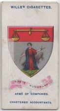 Society of Chartered Accountants England 100+ Y/O Trade  Card
