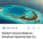 70 % off to stay at Waldorf Astoria Maldives Ithaafushi