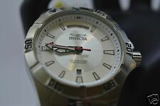Invicta Trinite Nightglow Swiss Diver Stainless Steel/Silver Dial Men's 6958