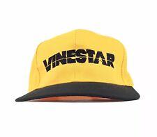 VINESTAR Embroidered Mustard Yellow Baseball Cap Hat SnapBack Men s Size b2a58b30db95