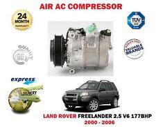 para Land Rover Freelander 2.5 V6 2000-2006 CA COMPRESOR DE AIRE ACONDICIONADO