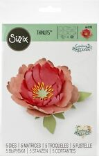 Sizzix Thinlits Dies By Courtney Chilson 5/Pkg-Peony