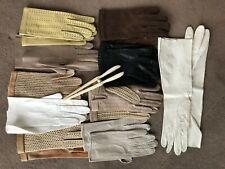 Gants de femme lot vintage