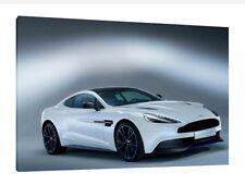 Aston Martin Vanquish - 30x20 Inch Canvas Artwork - Framed Picture Art Print