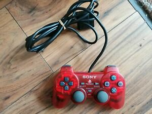 Official PlayStation 2 (PS2) Red Sony DualShock 2 Dual Shock 2 Controller