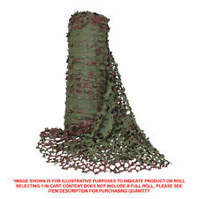CAMOUFLAGE NET WOODLAND CAMO 2.4M WIDE ROLL SOLD PER METRE - SHADE CLOTH