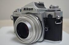 Nikon FM3A 35mm SLR Film Nikkor Lens 45mm 1:2.8