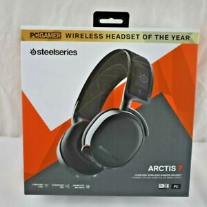 SteelSeries Arctis 7 Lossless Wireless DTS Gaming Headset for PC and Playstation