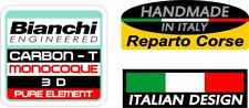 Bianchi frame decal set - Carbon-T Monocoque