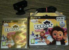 Sony Playstation 3 PS3 Cámara Oficial Eye Pet Box Set Juegos Lote Eyepet Usb Cam