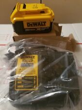 GENUINE DEWALT 20V Max 4.0 a.h Lith-Ion Battery Pack DCB204 + Charger DCB115 NEW