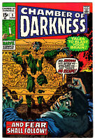 CHAMBER OF DARKNESS #5 7.0 OFF-WHITE PAGES BRONZE AGE H.P. LOVECRAFT