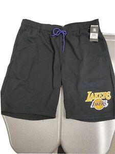 LA Lakers NBA Cotton Shorts 2XL LeBron Kobe AD Magic
