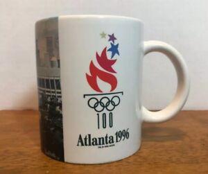 Olympic Games VINTAGE 1996 Atlanta Coffee Mug Cup City of Atlanta RARE