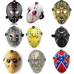 Jason Hockey Mask Halloween Costume Horror Cosplay Party Masquerade Props Mask
