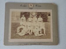 1901 Geelong College Cricket Team Photo