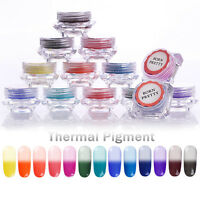 Nail Art Thermal Gradient Pigment Powder Dust Color Change  BORN PRETTY
