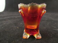 Boyd Glass Company Amberina Toothpick Holder Vintage