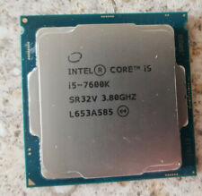 Intel Core i5 7600K 7600 K Processor CPU 3.8GHz LGA1151