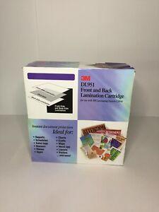 NEW - 3M Dual Laminate Refill-Cartridge DL951, 8.5 Inches x 100 Feet (DL951)