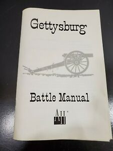 Avalon Hill Gettysburg Bookcase Game Replacement Pieces