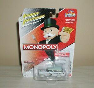 johnny lightning white lightning monopoly 1955 chevy nomad & game token new