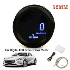 "2"" 52mm LED Exhaust Gas Temperature Gauge EGT For Car Truck Universal With Cable"
