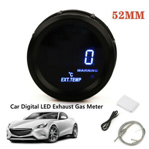 2inch 52MM LED Exhaust Gas Temperature Gauge EGT For Car Truck Universal W/Cable