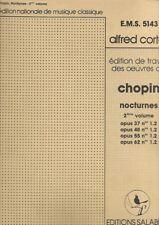 Partition piano - F Chopin - Nocturnes - Volume 2