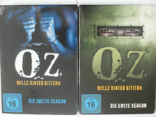 Oz - Hölle hinter Gittern Season 1 + 2 - Knast Gefängnis TV Serie Sammlung, Edel