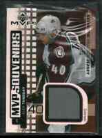 2002-03 Upper Deck MVP Alex Tanguay #S-AT Jersey Frsca