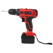 21V Li-ion Battery Electric Screwdriver Rechargeable Cordless Drill Power Tool T