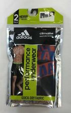 """adidas Climacool Micro Mesh Underwear 2-pack 9"""" Midway Size S 28-30 MSRP $30"""