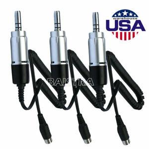 3X Marathon Dental E-Type Electric Micro Motor 35,000RPM Lab Equipment Handpiece