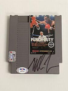 MIKE TYSON signed PUNCHOUT NES Nintendo Game Cartridge Auto Autograph PSA/DNA