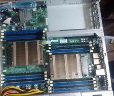 Super Micro -X9DRW-IF with 2 Xeon E5-2609 CPUs and heatsinks!!!