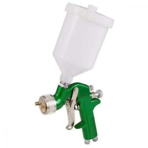 1.7 mm Spray Gun Gravity Feed Compressor Air Fed 600 cc ml Pot 2K PRIMER PAINT