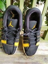 Jordan Yellow and Black Sneakers 323910-071 Mens Size 11.5