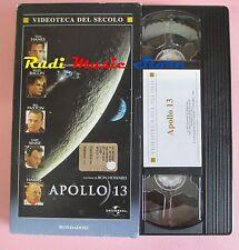film VHS cartonata APOLLO 13 T. Hanks K. Bacon MONDADORI 1995 (F36 ** ) no dvd