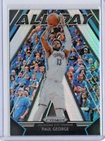 PAUL GEORGE Thunder 2018-2019 Panini Prizm ALL DAY SILVER PRIZM INSERT #5