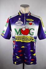 MOG Technogym Nalini vintage cycling jersey maglia Rad Trikot Gr. 7 L 58cm U1