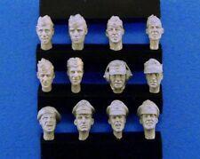 Legend 1/35 #0113 WWII German Heads Set #3